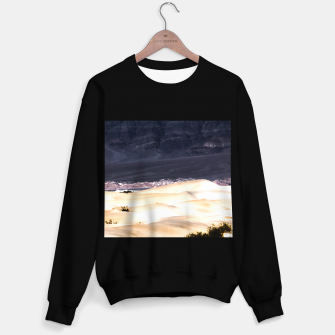 Thumbnail image of sand dunes at Death Valley national park, California, USA Sweater regular, Live Heroes