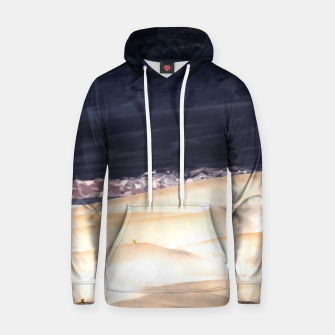 Thumbnail image of sand dunes at Death Valley national park, California, USA Hoodie, Live Heroes