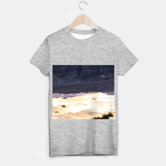 Thumbnail image of sand dunes at Death Valley national park, California, USA T-shirt regular, Live Heroes