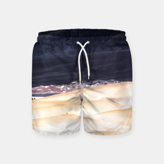 Thumbnail image of sand dunes at Death Valley national park, California, USA Swim Shorts, Live Heroes