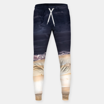 Thumbnail image of sand dunes at Death Valley national park, California, USA Sweatpants, Live Heroes