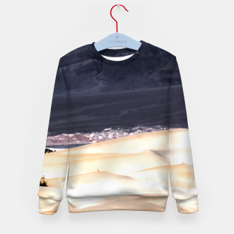 Thumbnail image of sand dunes at Death Valley national park, California, USA Kid's sweater, Live Heroes