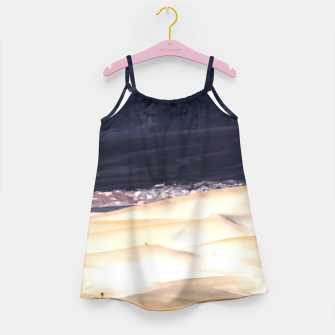 Thumbnail image of sand dunes at Death Valley national park, California, USA Girl's dress, Live Heroes