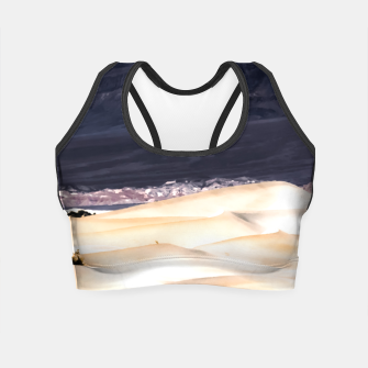 Thumbnail image of sand dunes at Death Valley national park, California, USA Crop Top, Live Heroes