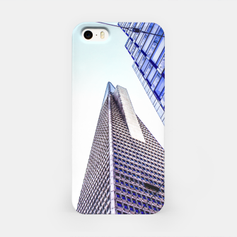 Thumbnail image of pyramid building and modern building at San Francisco, USA iPhone Case, Live Heroes
