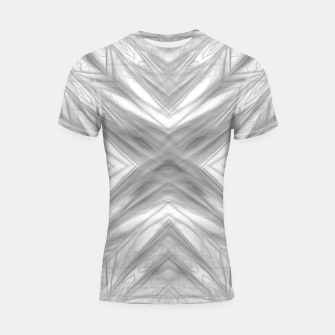 Thumbnail image of psychedelic drawing symmetry graffiti art abstract pattern in black and white Shortsleeve rashguard, Live Heroes