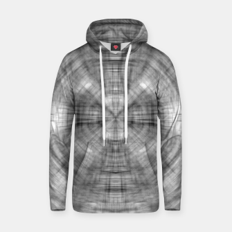 Thumbnail image of psychedelic drawing symmetry graffiti abstract pattern in black and white Hoodie, Live Heroes