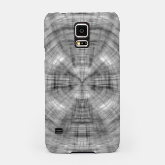 Thumbnail image of psychedelic drawing symmetry graffiti abstract pattern in black and white Samsung Case, Live Heroes