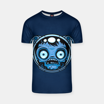 Thumbnail image of Zombie Astronaut T-shirt, Live Heroes