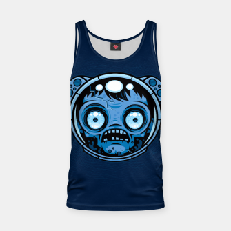 Thumbnail image of Zombie Astronaut Tank Top, Live Heroes