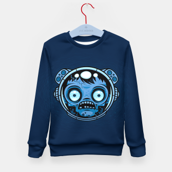 Thumbnail image of Zombie Astronaut Kid's sweater, Live Heroes