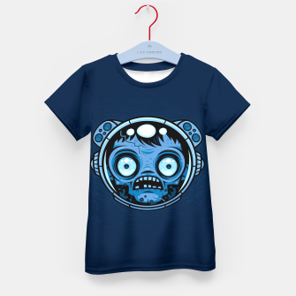 Thumbnail image of Zombie Astronaut Kid's t-shirt, Live Heroes