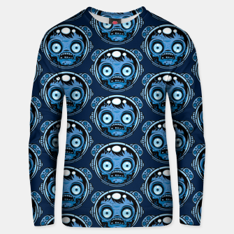 Thumbnail image of Zombie Astronaut Pattern Unisex sweater, Live Heroes