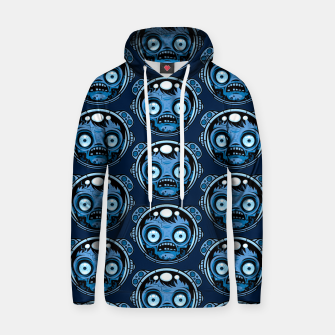 Thumbnail image of Zombie Astronaut Pattern Hoodie, Live Heroes