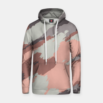 Miniaturka camouflage graffiti painting texture abstract pink grey and black Hoodie, Live Heroes