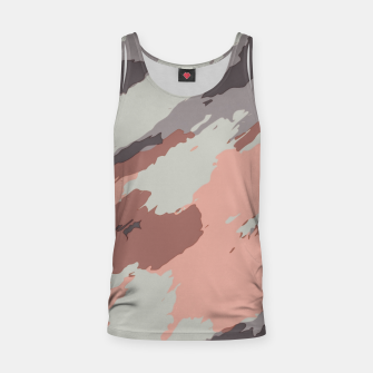 Miniaturka camouflage graffiti painting texture abstract pink grey and black Tank Top, Live Heroes