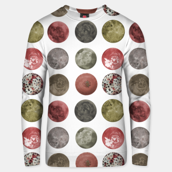 Thumbnail image of Watercolor Planets Spheres Pattern Unisex sweater, Live Heroes