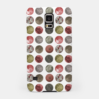 Thumbnail image of Watercolor Planets Spheres Pattern Samsung Case, Live Heroes