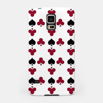Playing cards black red Samsung Case thumbnail image