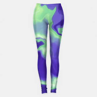 Thumbnail image of Abstract electric 25 Leggings, Live Heroes