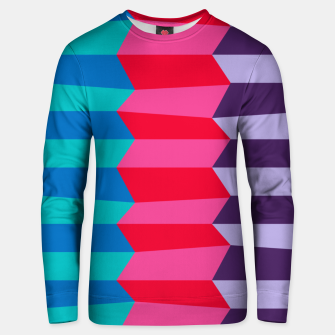 Thumbnail image of Retro Stripes Unisex sweater, Live Heroes