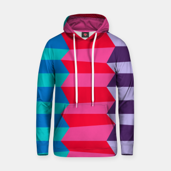 Thumbnail image of Retro Stripes Hoodie, Live Heroes