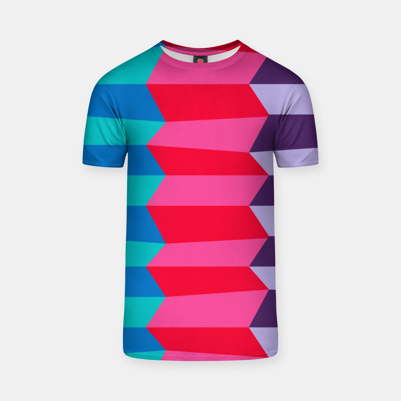 Image of Retro Stripes T-shirt - Live Heroes