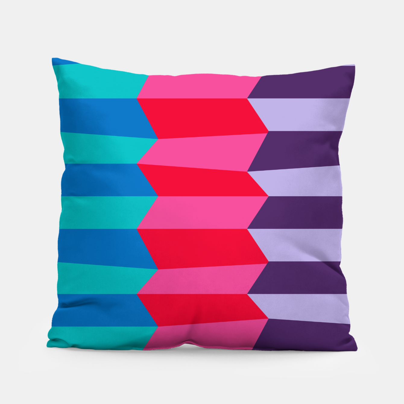 Image of Retro Stripes Pillow - Live Heroes