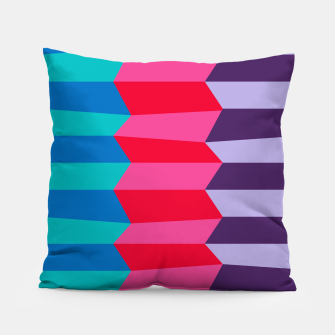 Thumbnail image of Retro Stripes Pillow, Live Heroes