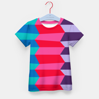 Thumbnail image of Retro Stripes Kid's t-shirt, Live Heroes