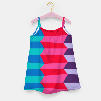 Thumbnail image of Retro Stripes Girl's dress, Live Heroes