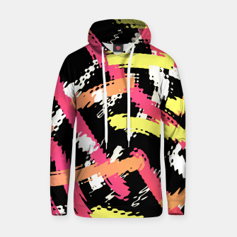 Thumbnail image of Color In The Lines Abstract Pop Art Unisex Hoodie, Live Heroes