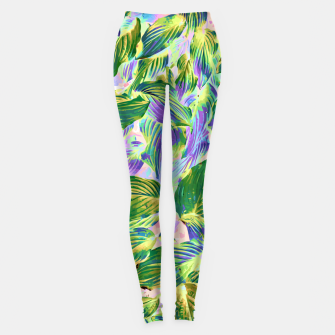 Miniaturka Happy Leaves  Leggings, Live Heroes