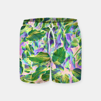 Miniaturka Happy Leaves  Swim Shorts, Live Heroes