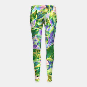 Miniaturka Happy Leaves  Girl's leggings, Live Heroes