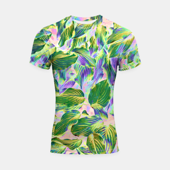 Miniaturka Happy Leaves  Shortsleeve rashguard, Live Heroes