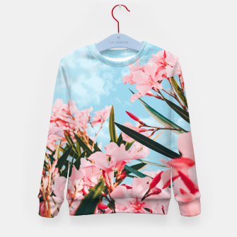 Thumbnail image of Blush Blossom     Kid's sweater, Live Heroes