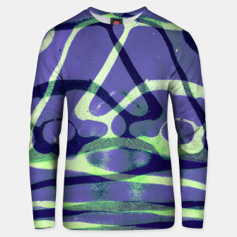 Thumbnail image of Frozen Puddle Design in Purple Unisex sweater, Live Heroes