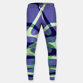 Thumbnail image of Frozen Puddle Design in Purple Sweatpants, Live Heroes