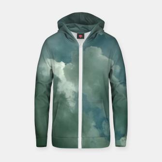 Thumbnail image of Clouds Zip up hoodie, Live Heroes