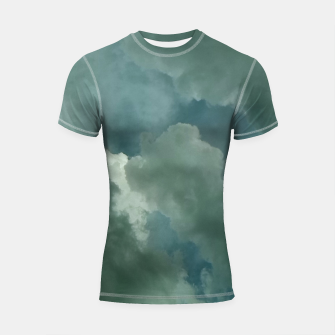 Thumbnail image of Clouds Shortsleeve rashguard, Live Heroes