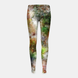 Thumbnail image of Ghost story Girl's leggings, Live Heroes