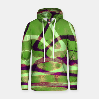 Thumbnail image of Abstract Frozen in Green Hoodie, Live Heroes