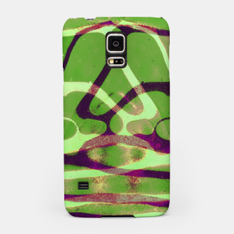 Thumbnail image of Abstract Frozen in Green Samsung Case, Live Heroes