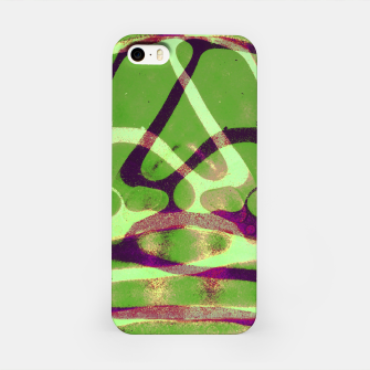 Thumbnail image of Abstract Frozen in Green iPhone Case, Live Heroes