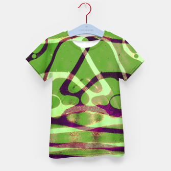 Thumbnail image of Abstract Frozen in Green Kid's t-shirt, Live Heroes