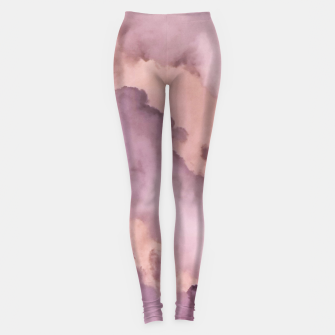 Thumbnail image of Pink Clouds Leggings, Live Heroes