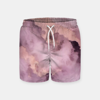 Thumbnail image of Pink Clouds Swim Shorts, Live Heroes