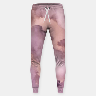 Thumbnail image of Pink Clouds Sweatpants, Live Heroes