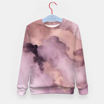 Thumbnail image of Pink Clouds Kid's sweater, Live Heroes